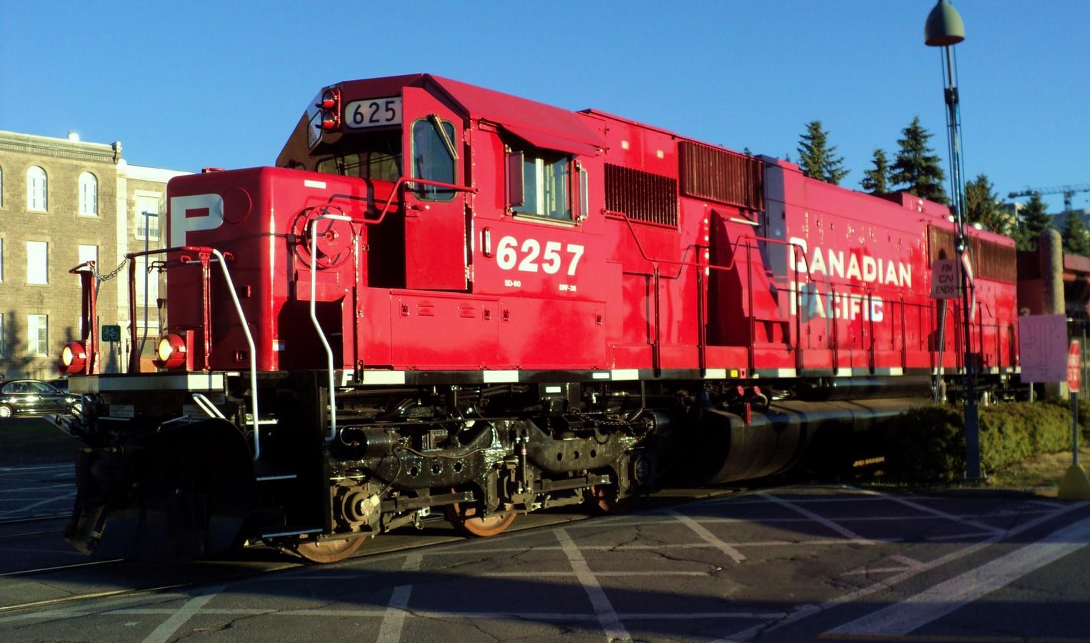 Canadian Pacific Railway CP #6257 EMD SD60 diesel ...