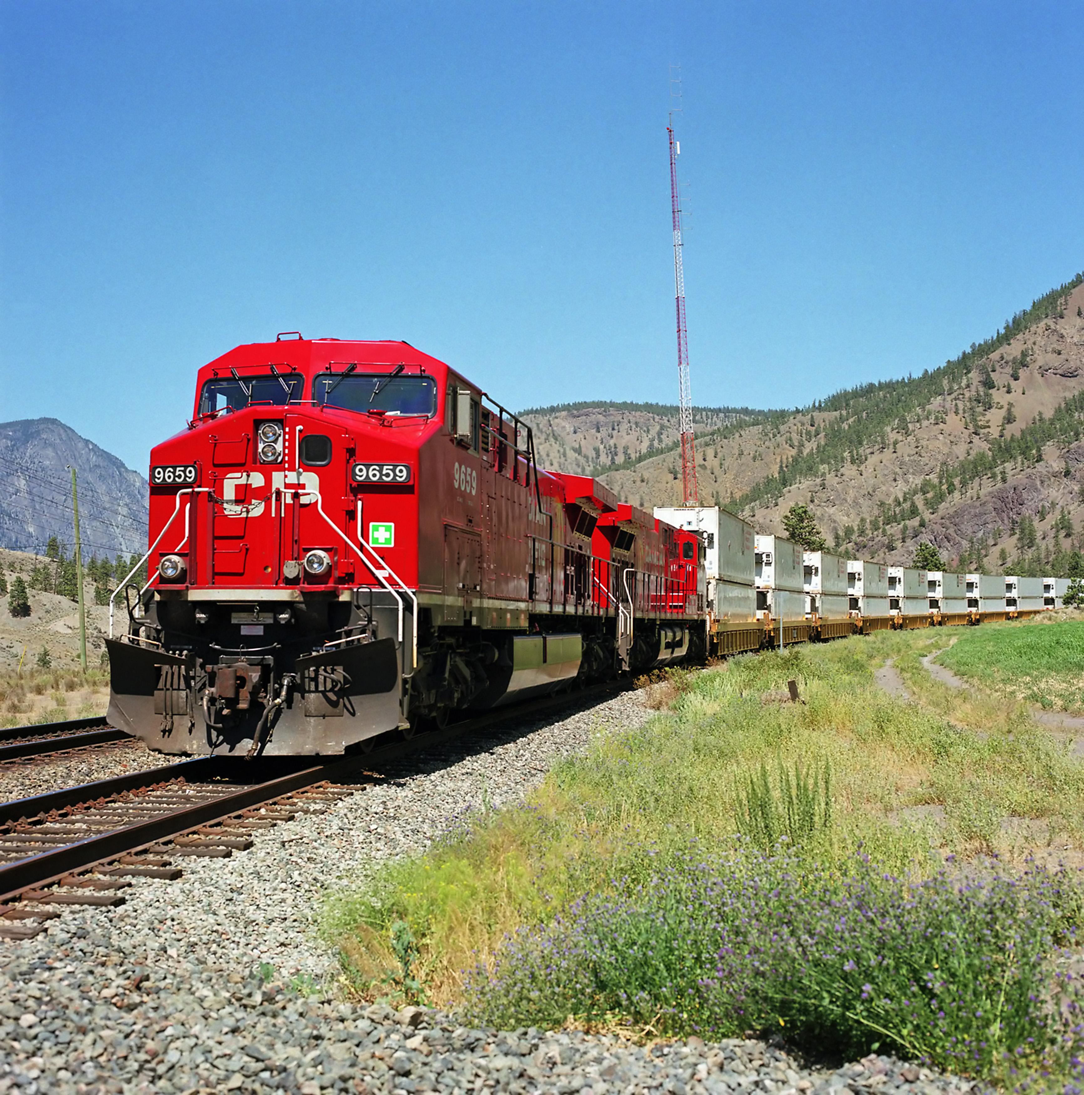 Canadian Pacific Railway (CP) #9659. Diesel Locomotive GE AC4400CW, 31 May  2011