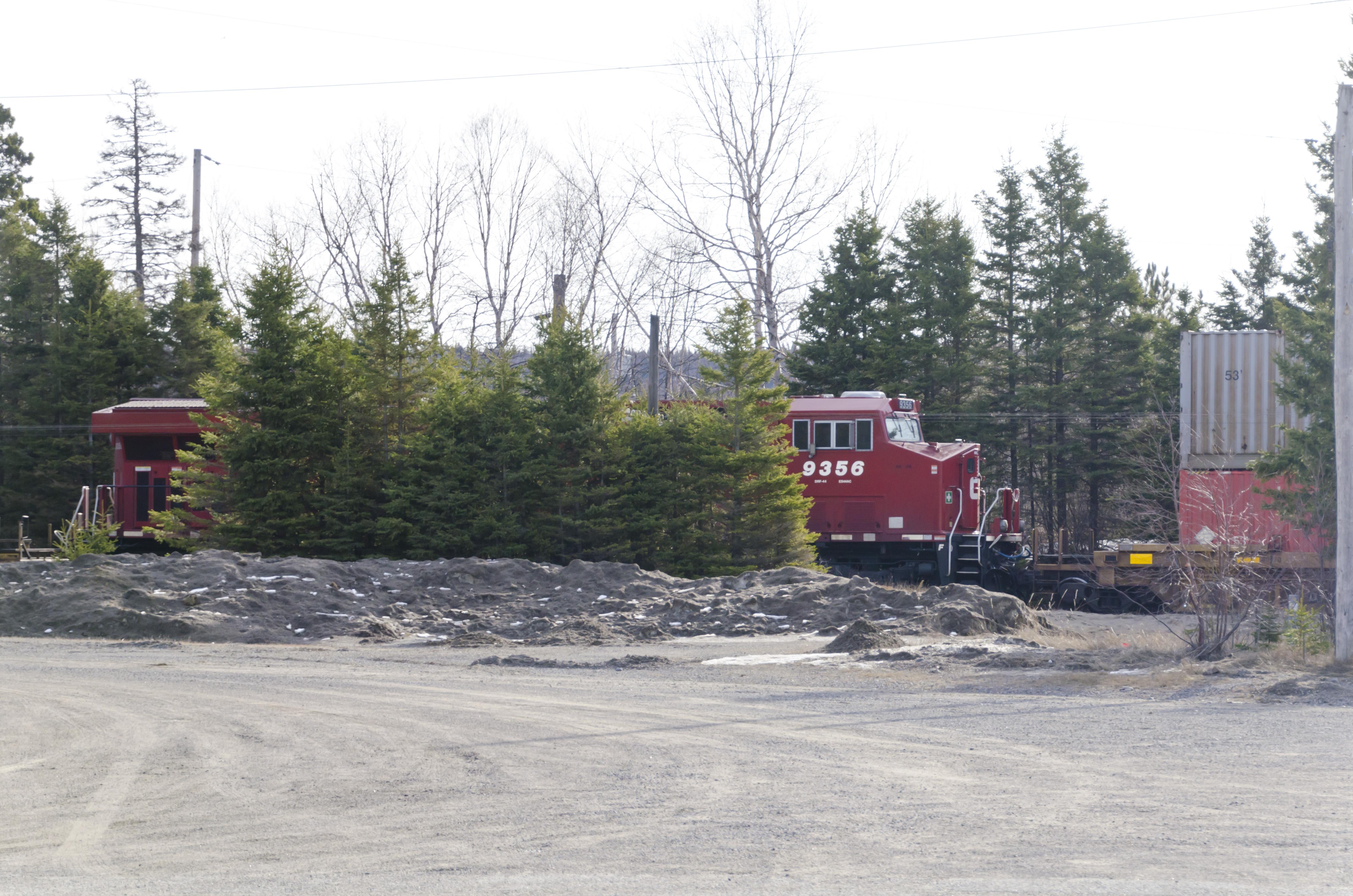 Canadian Pacific Railway CP #9356 GE ES44AC diesel