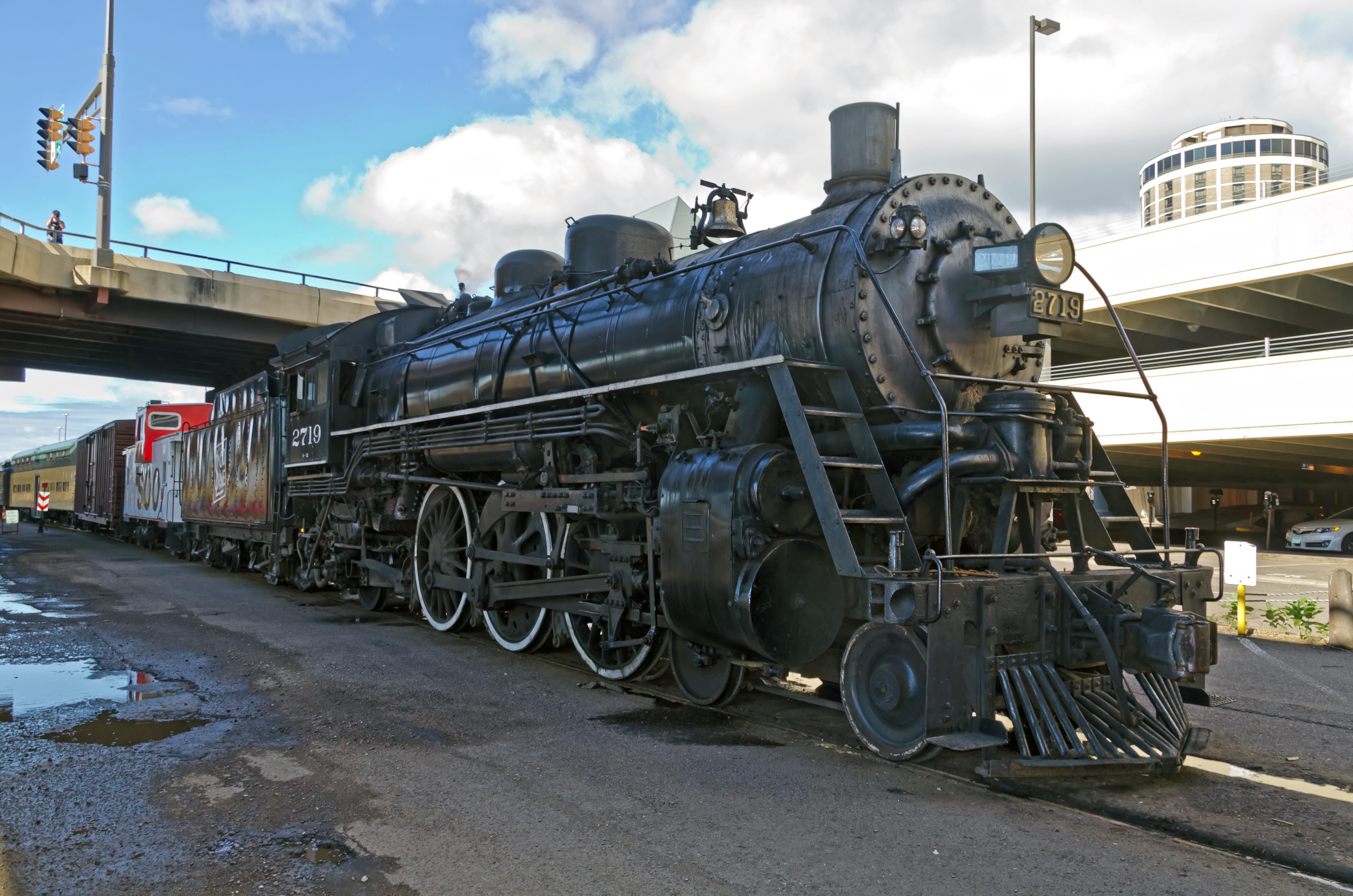 Soo Line Railroad (SOO) #2719. Steam Locomotive 4-6-2, 30 Aug 2013
