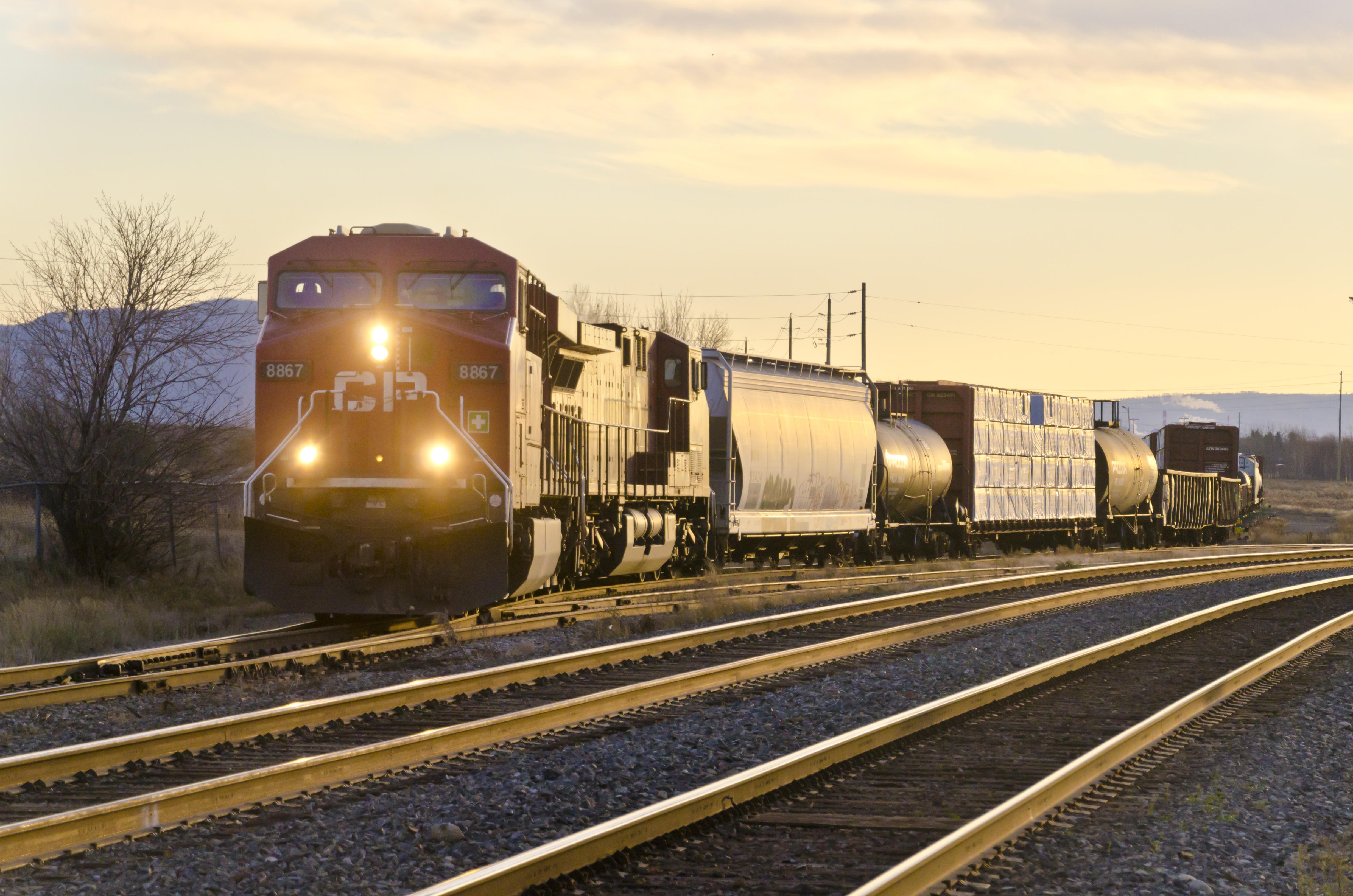 Canadian Pacific Railway CP #8867 GE ES44AC diesel