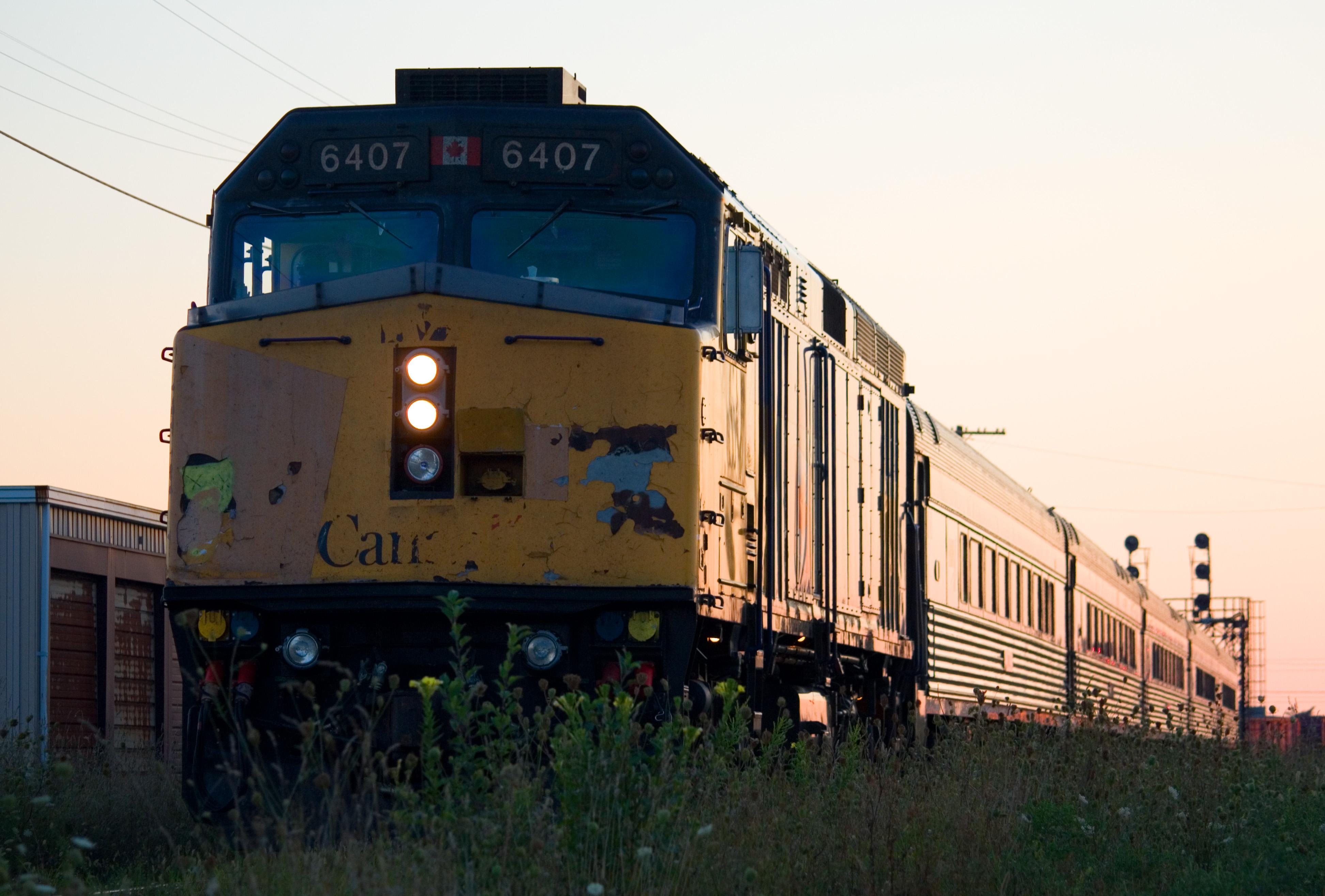 VIA Rail (VIA) #6407. Diesel Locomotive EMD F40PH-2, 27 Aug 2010