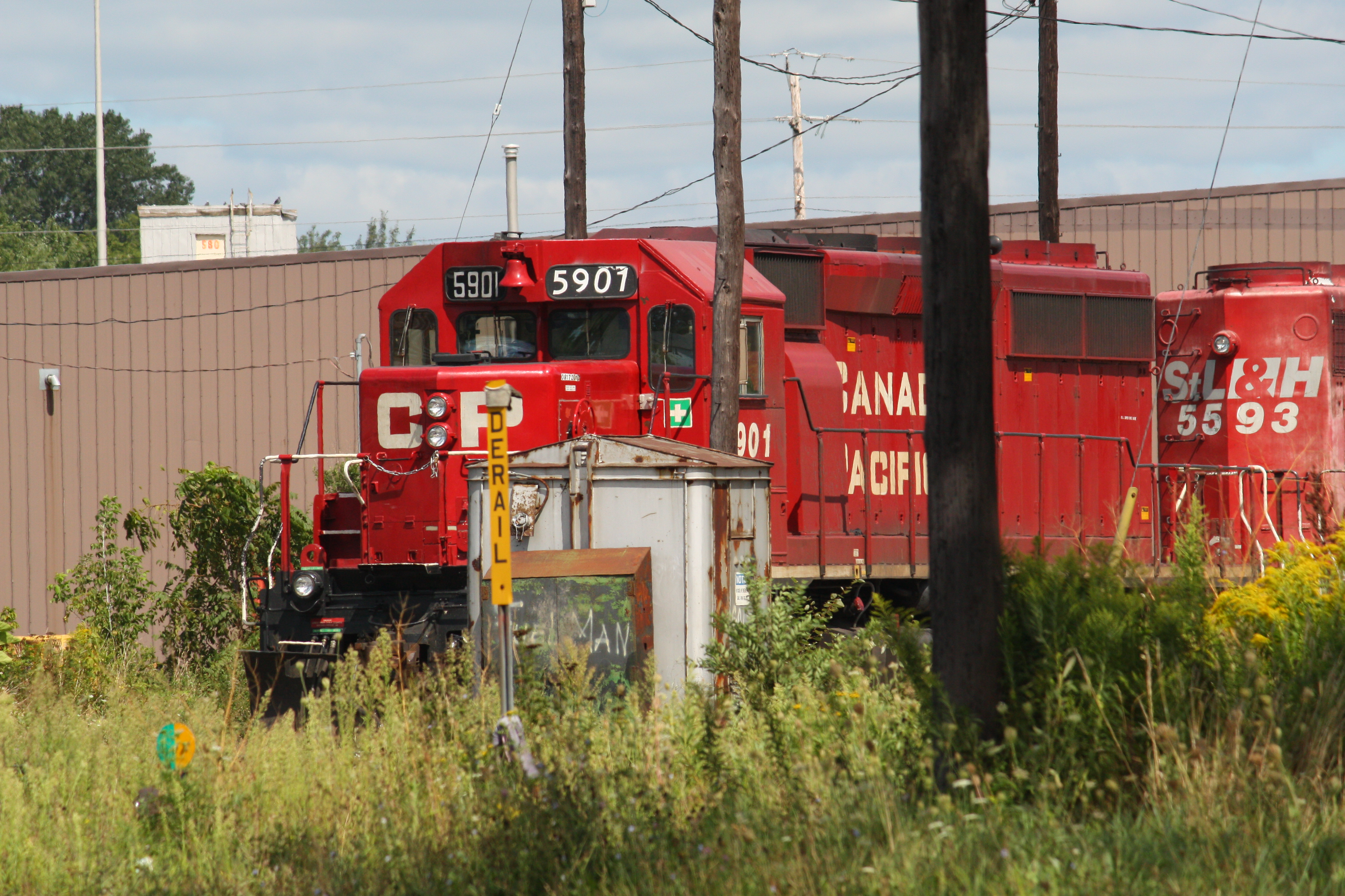 Canadian Pacific Railway (CP) #5901. Diesel Locomotive EMD SD40-2, 26 Aug  2010