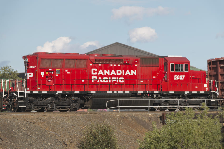 Canadian Pacific Railway CP #5027 EMD SD30C-ECO Diesel Locomotive (22 Aug 2016)